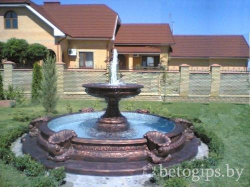Как сделать чашу для фонтана из бетона - Nationalparks.ru